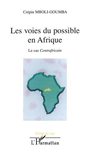Couverture Les voies du possible en Afrique