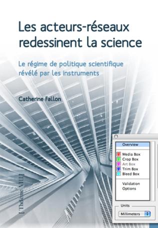 Couverture Les acteurs-réseaux redessinent la science