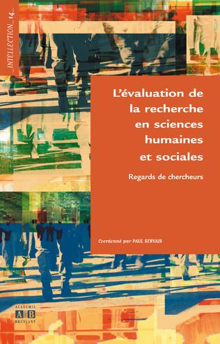 Couverture L'évaluation de la recherche en sciences humaines et sociales