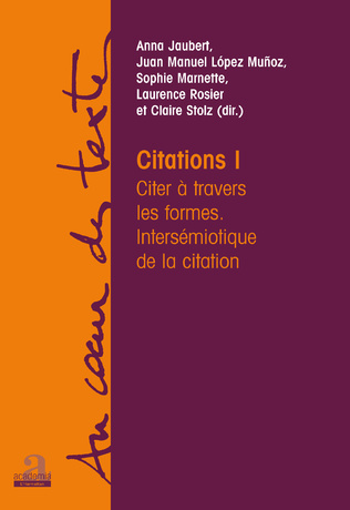 Couverture Citations I