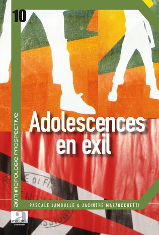 Couverture Adolescences en exil