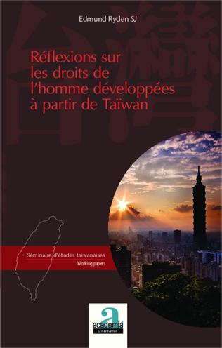 Couverture Réflexions sur les droits de l'homme développées à partir de Taiwan