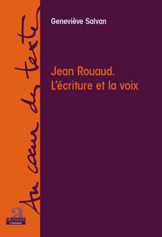 Couverture Jean Rouaud