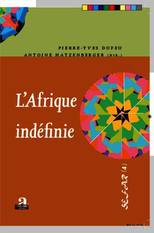 Couverture L'Afrique indéfinie