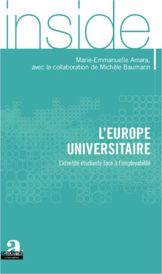 Couverture L'Europe universitaire