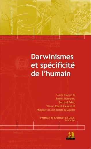 Couverture Darwinismes et spécificité de l'humain