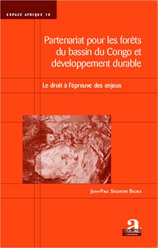 Couverture Partenariat pour les forêts du bassin du Congo et développement durable