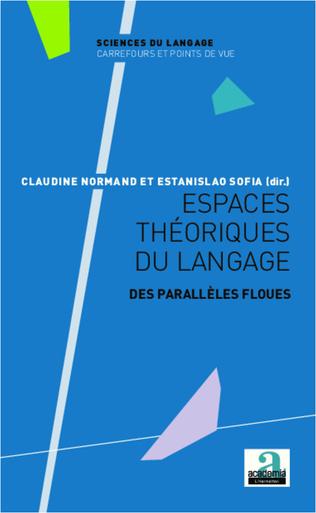Couverture Espaces théoriques du langage