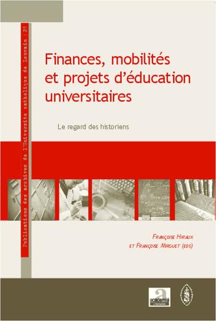 Couverture Finances, mobilités et projets d'éducation universitaires