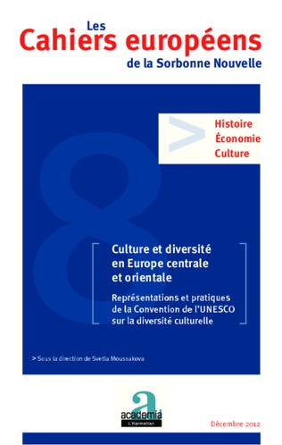 Couverture Culture et diversité en Europe centrale et orientale