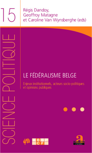 Couverture Chapitre 6 - Médias et fédéralisme. Analyse de la couverture médiatique lors des élections régionales de 2009