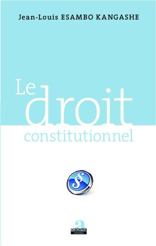 Couverture Le droit constitutionnel