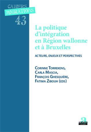 Couverture Politique d'intégration et région wallonne et à Bruxelles