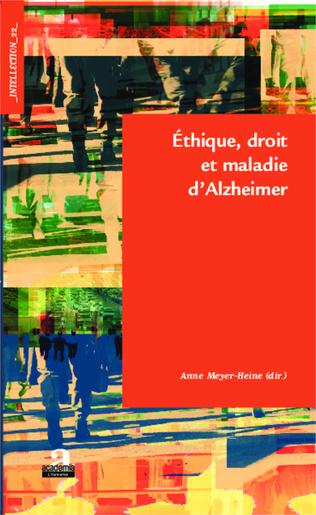 Couverture Ethique, droit et maladie d'Alzheimer