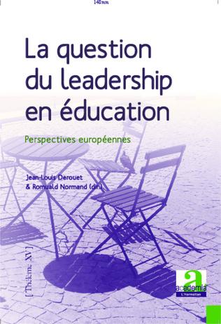 Couverture La question du leadership en éducation
