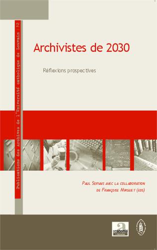 Couverture Archivistes de 2030