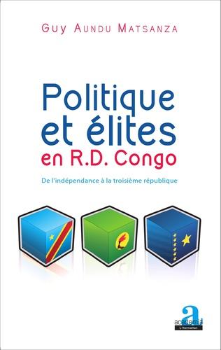 Couverture Politique et élites en R.D. Congo