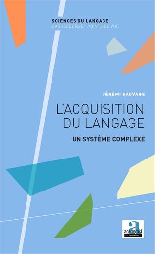 Couverture L'acquisition du langage