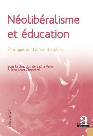 Couverture Néolibéralisme et éducation