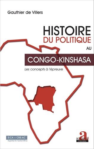 Couverture Histoire du politique au Congo-Kinshasa