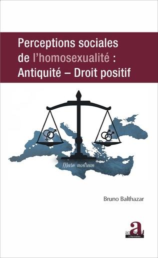 Couverture PERCEPTIONS SOCIALES DE L'HOMOSEXUALITE