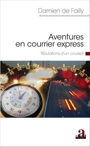 Couverture Aventures en courrier express