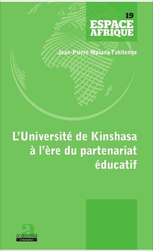 Couverture L'UNIVERSITE DE KINSHASA A L'ERE DU PARTENARIAT EDUCATIF