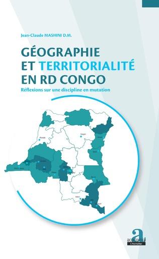 Couverture Géographie et territorialité en RD Congo.