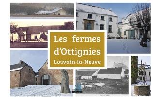 Couverture Les fermes d'Ottignies-Louvain-la-Neuve