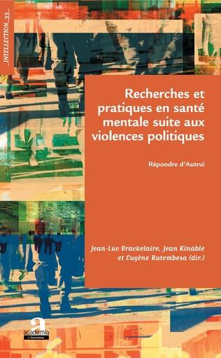 Couverture Recherches et pratiques en santé mentale suite aux violences politiques