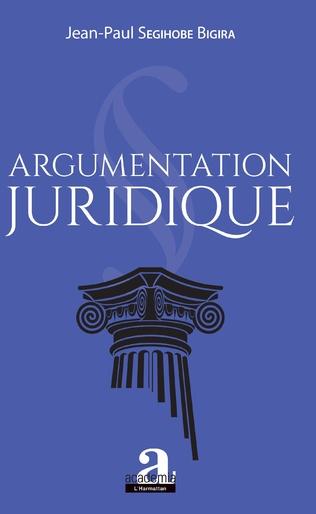 Couverture Argumentation juridique