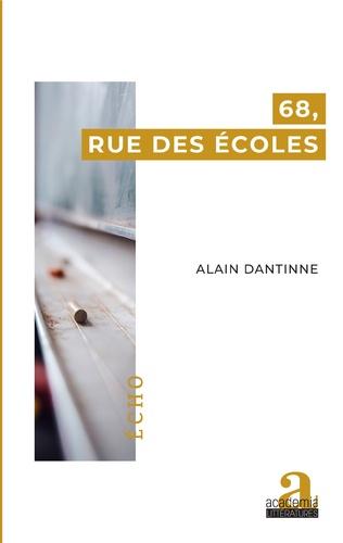 Couverture 68, rue des Écoles
