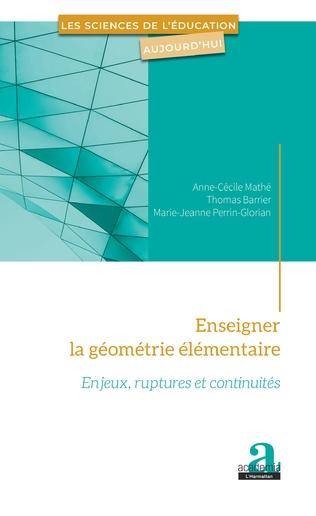 Couverture Enseigner la géométrie élémentaire
