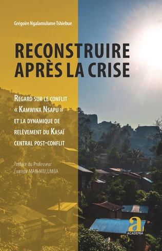 Couverture Reconstruire après la crise