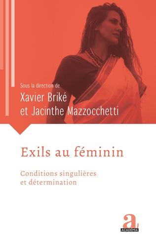 Couverture Exils au féminin