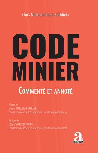Couverture Code minier