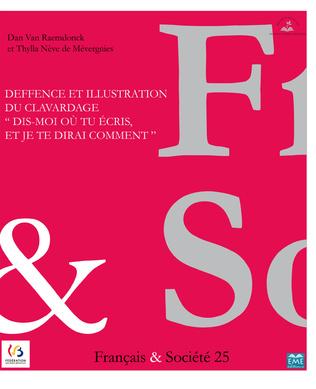 Couverture Deffence et illustration du clavardage