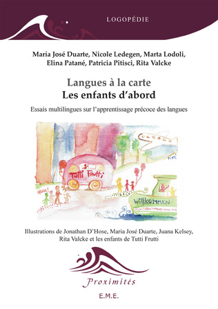 Couverture Langues a la carte