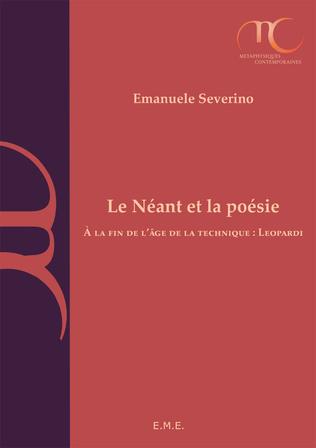 Couverture Le Néant et la poésie