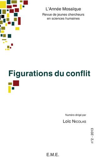 Couverture Figurations du conflit