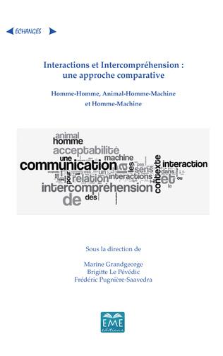 Couverture Interactions et Intercompréhension : une approche comparative