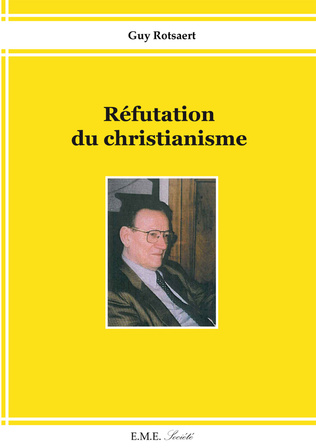Couverture Réfutation du christianisme