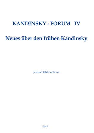 Couverture Kandinsky Forum IV