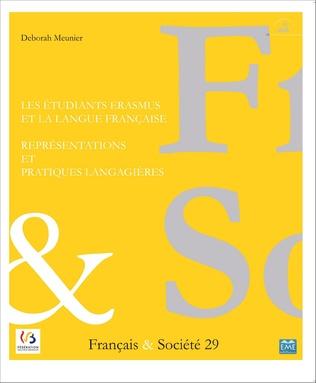 Couverture Les étudiants Erasmus et la langue française