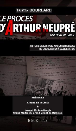 Couverture Le procès d'Arthur Neupré