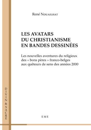 Couverture Les avatars du christianisme en bandes dessinées
