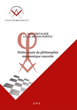 Couverture Petits essais de philosophie maçonnique concrète