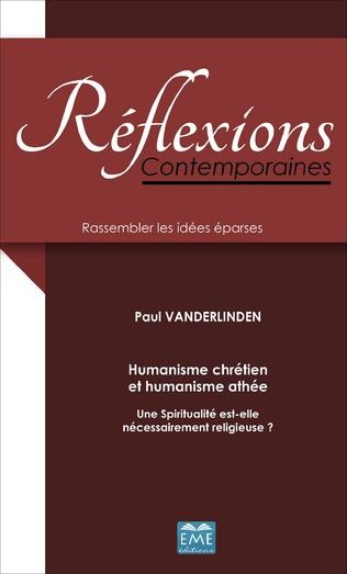 Couverture Humanisme chrétien et humanisme athée