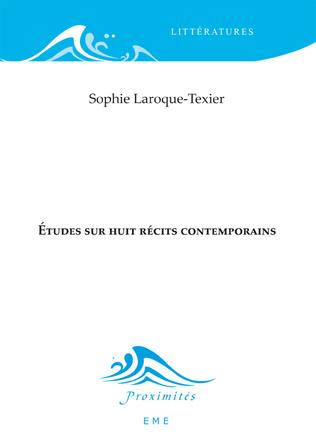 Couverture Études sur huit récits contemporains