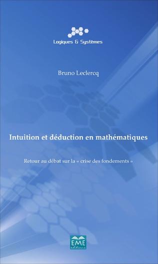 Couverture Intuition et déduction en mathématiques